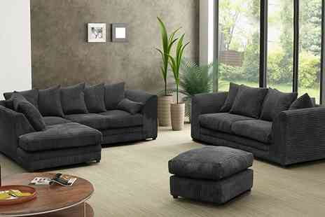 Groupon Goods Global GmbH - Milo Plain Sofa and Lounge Collection - Save 53%
