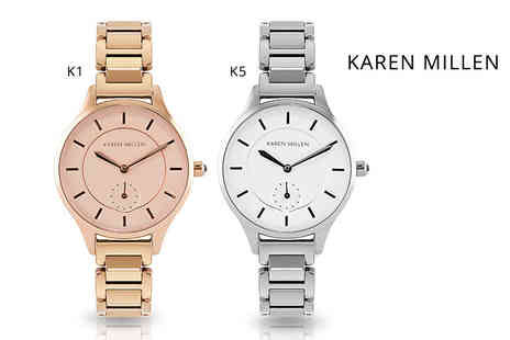 Brand Logic - Ladies Karen Millen watch choose from eight styles - Save 86%