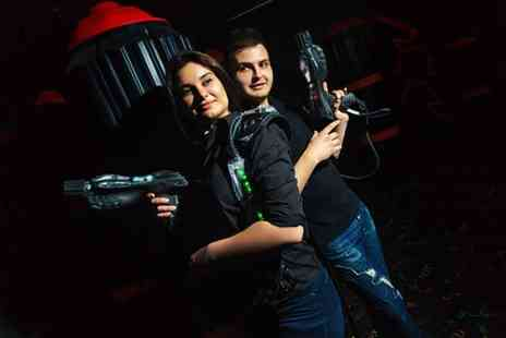 Quasar Elite - Two games of laser tag for one or two - Save 50%