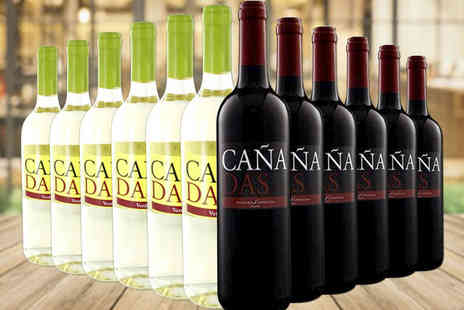 Easy Gifts - 12 bottle mixed selection of Canadas red and white wine - Save 64%
