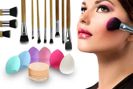Ckent - 13pc makeup & brush bundle - Save 62%