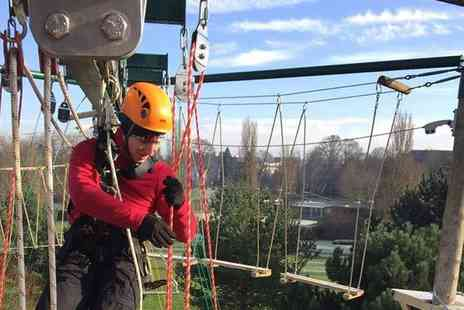 High Place Horsham - Aerial adventure day for one or two - Save 50%