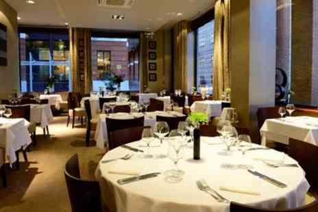 Edmunds Bistro De Luxe - Two Course French Meal with Coffee and Petits Fours for Two or Four - Save 59%