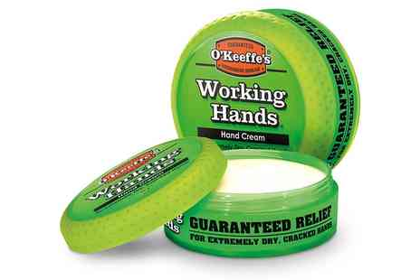 Groupon Goods Global GmbH - One or Two Jars of OKeeffes Working Hands Hand Cream - Save 74%