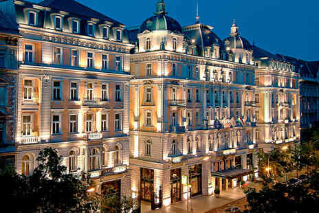 Corinthia Hotel Budapest - Five Star Grand Hotel Stay For Two near the Famous Basilica - Save 71%