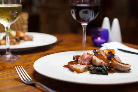 Darwin's Restaurant - Lichfield coaching inn, Two course meal with gin for 2 - Save 56%