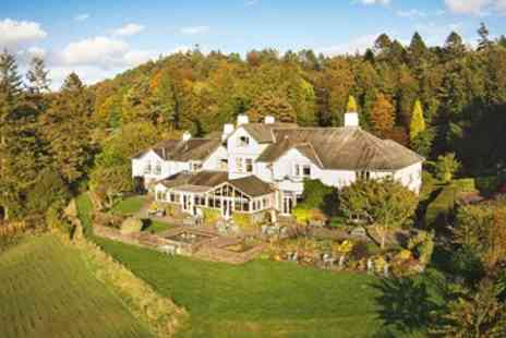 The Ryebeck Country House & Restaurant - Lunch & bubbly for 2 with Lake Windermere views - Save 49%