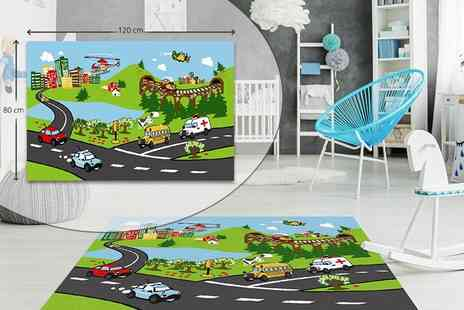 Real Shopping - Kids giant playmat - Save 68%