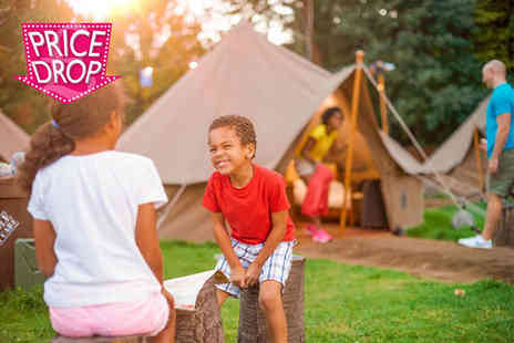 Chessington World of Adventures Resort - Overnight Explorer Glamping break for a family of up to four with two day entry to Chessington Theme Park, Zoo and SEA LIFE centre - Save 48%