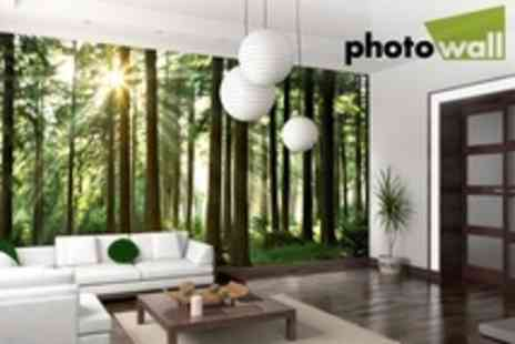 Photowall.co.uk - Bespoke Wall Art £100 for £300 Towards Purchases - Save 67%