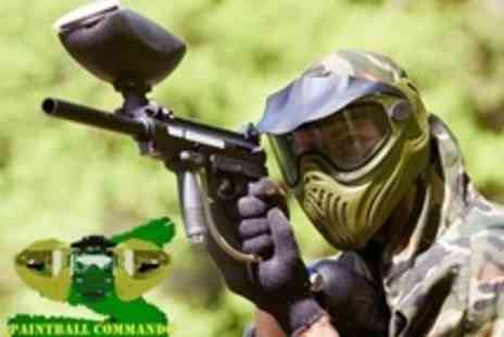 Paintball Commando - Paintballing For Ten With Lunch and 100 Pellets Each - Save 96%