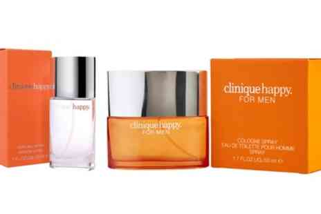 Groupon Goods Global GmbH - Clinique Happy 30ml EDP for Her or 50ml EDT for Him - Save 51%