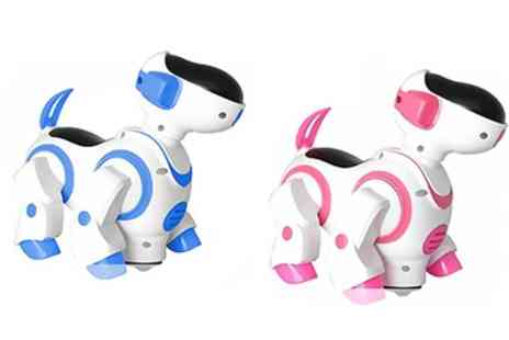 Groupon Goods Global GmbH - One or Two Childrens Dancing Robot Dogs - Save 69%