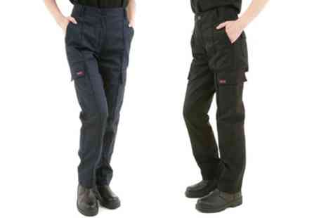Groupon Goods Global GmbH - Womens Site King Cargo Work Trousers - Save 0%