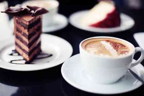 Coastal Coffee - Coffee and Cake for One or Two - Save 38%