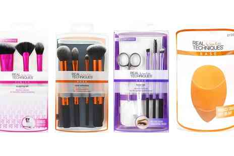 Prism Products - Real Techniques Cosmetics Brush Sets With Free Delivery - Save 0%
