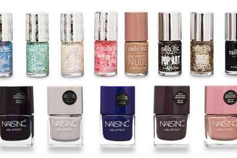 Groupon Goods Global GmbH - 5, 10 or 15 Nails Inc Lucky Dip Nail Polishes - Save 68%