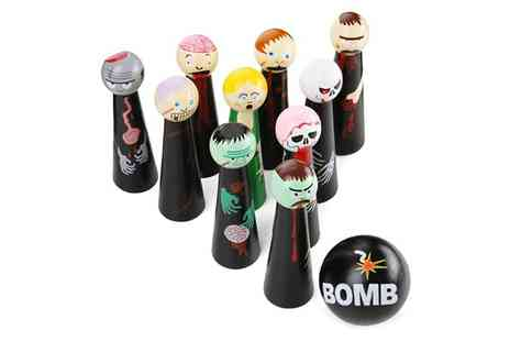 Groupon Goods Global GmbH - One or Two Bowling Zombies Wooden Novelty Games - Save 70%
