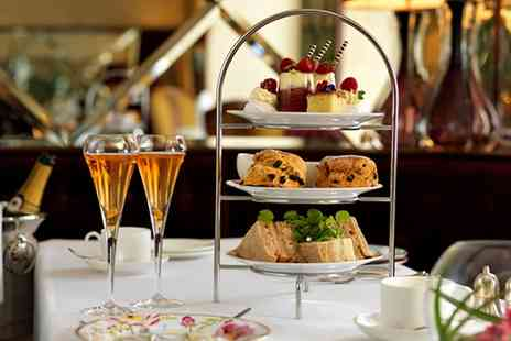 Shrigley Hall Hotel - Afternoon Tea with Glass of Champagne for Two or Four - Save 58%