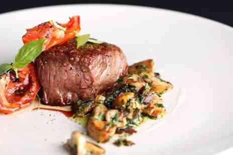 Graham Usher & Martin Firth - Two Course meal for Two - Save 59%