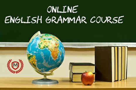 Manchester School of Languages - Online English grammar course - Save 93%