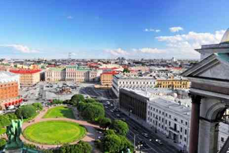 Flights & Packages - Moscow & St Petersburg twin city break With flights - Save 0%