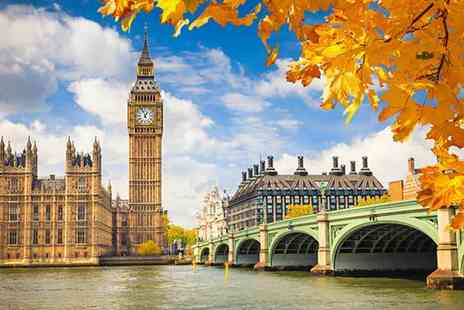 SuperBreak - Four Star Two nights London stay including breakfast, river cruise, bottle of Prosecco and return train tickets - Save 45%