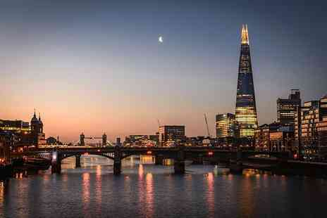 OMGhotels - Three Star overnight London stay with breakfast, View from The Shard tickets and Champagne - Save 0%