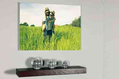 Your Perfect Canvas - A2 personalised canvas save a picture perfect - Save 80%