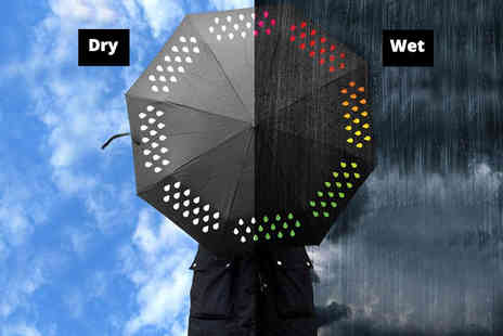 Groundlevel - Colour changing umbrella - Save 80%