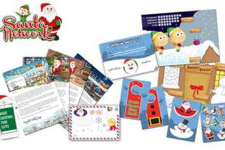 Santa Letter Direct - Personalised Santa Claus Letter with an Optional Activity Pack - Save 61%