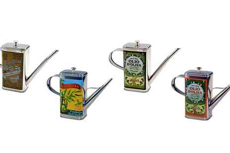 Groupon Goods Global GmbH - Stainless Steel Olive Oil Can in Choice of Design - Save 0%