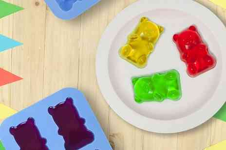 Groupon Goods Global GmbH - One, Two or Four Thumbs Up Jelly Bear Moulds - Save 61%