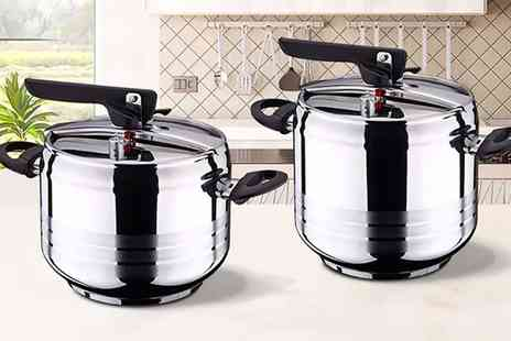 Groupon Goods Global GmbH - Swiss Home 5L or 7L Pressure Cooker - Save 0%