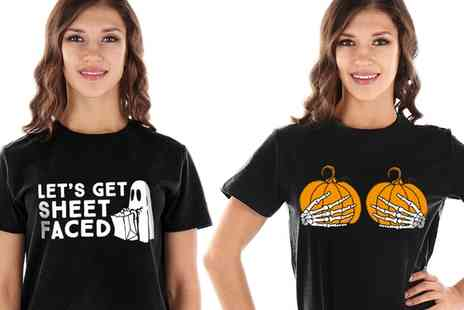 Groupon Goods Global GmbH - Womens Halloween TShirts - Save 0%
