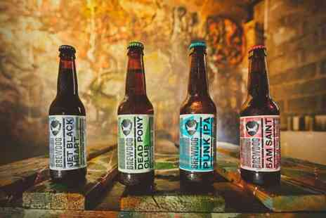 BrewDog - Tutored craft beer tasting experience for two with cheese pairings - Save 50%