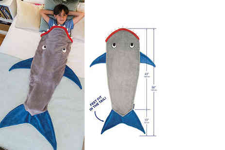 Fair Retail Adventures - Kids shark blanket - Save 52%