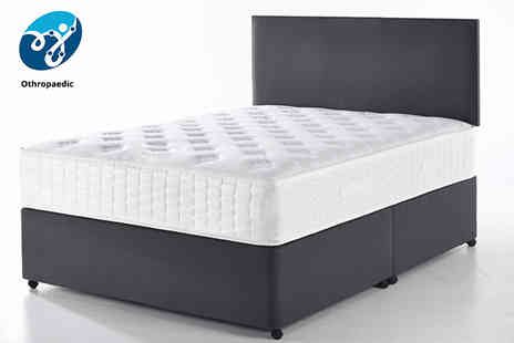 Relaxd - Single orthopaedic back care memory mattress - Save 56%