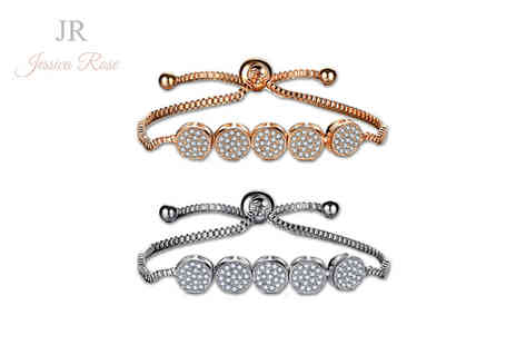 Solo Act - Jessica Rose crystal friendship bracelet - Save 76%