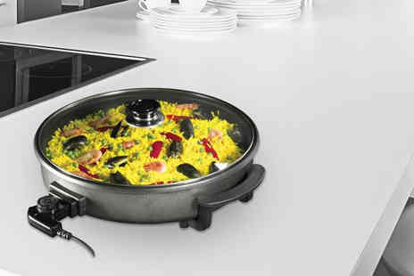 ViVo Technologies - 40cm 1500W multicooker with glass lid - Save 69%