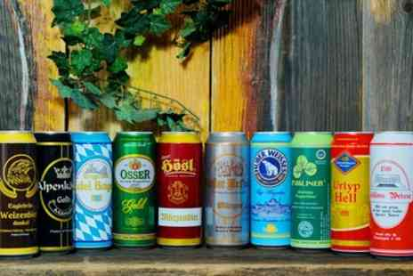 Kalea GmbH - 24 500ml Cans of Assorted German Beer With Free Delivery - Save 0%