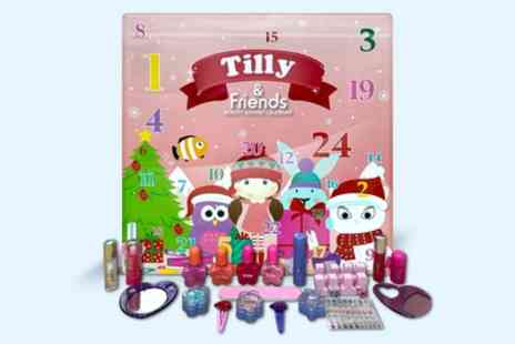 Groupon Goods Global GmbH - One or Two Tilly 24 Days Of Beauty Advent Calendars - Save 48%