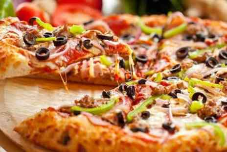 Pizza Pop - Pizza and a Glass of Wine for Two or Four - Save 53%
