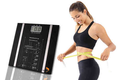 TLD Marketing - Set of digital body analyser scales - Save 58%