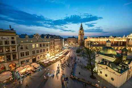 Weekender Breaks - Two night Krakow break with daily breakfast and flights - Save 39%