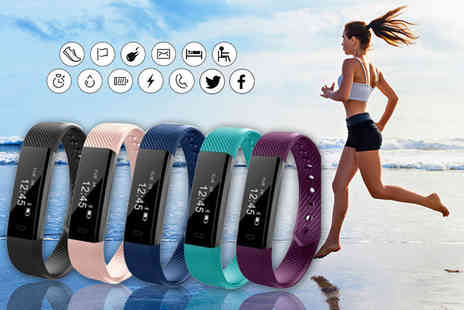 Toy Meets World - VeryFit 14 in 1 wireless fitness tracker bracelet - Save 90%