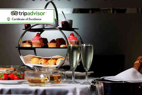 Number Twelve - Afternoon tea for two with a bottle of bubbly to share - Save 61%