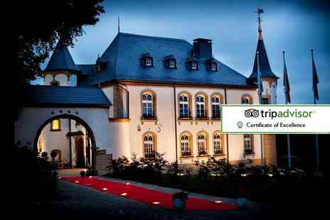 Bargain Late Holidays - Two night romantic 4 Star Luxembourg stay in a luxury chateau, with daily breakfast, car hire and flights - Save 25%