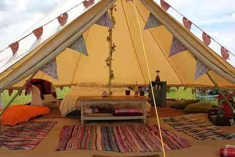 Reforge Retreat - Two night Devon glamping stay for two - Save 44%