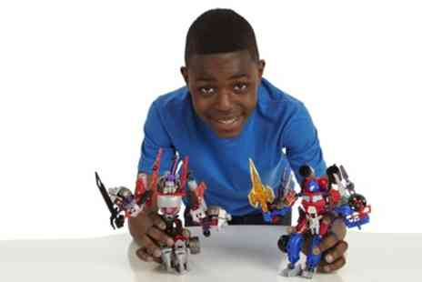 Groupon Goods Global GmbH - Transformers Construct Bots Ultimate Set - Save 30%